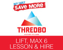Thredbo-Lift Tickets expedition-Thredbo Lift Max 6 Lessons Rental BUY EARLY SAVE 7 Day Advance Purchase