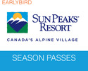 Sun Peaks-Lift Tickets expedition-Sun Peaks Earlybird Season Passes Book Pay by 30 June