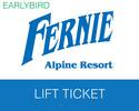 Fernie-Lift Tickets expedition-Fernie Earlybird Lift Ticket Book By 31 Aug