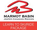 Jasper-Lift Tickets tour-Jasper Marmot Basin Learn to Ski Boad Lift Lesson Hire Package