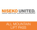 Niseko-Lift Tickets outing-Niseko All Mountain Lift Ticket Green Leaf Guest