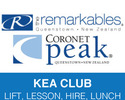 Queenstown-Lift Tickets expedition-Queenstown Kea Kids Club Coronet Peak Remarkables Mountains