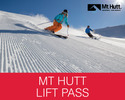 Methven-Lift Ticket tour-Mt Hutt Lift Ticket