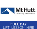 Methven-Lift Tickets tour-NZ Ski Mt Hutt Full Day Lift Lesson Hire Programmes
